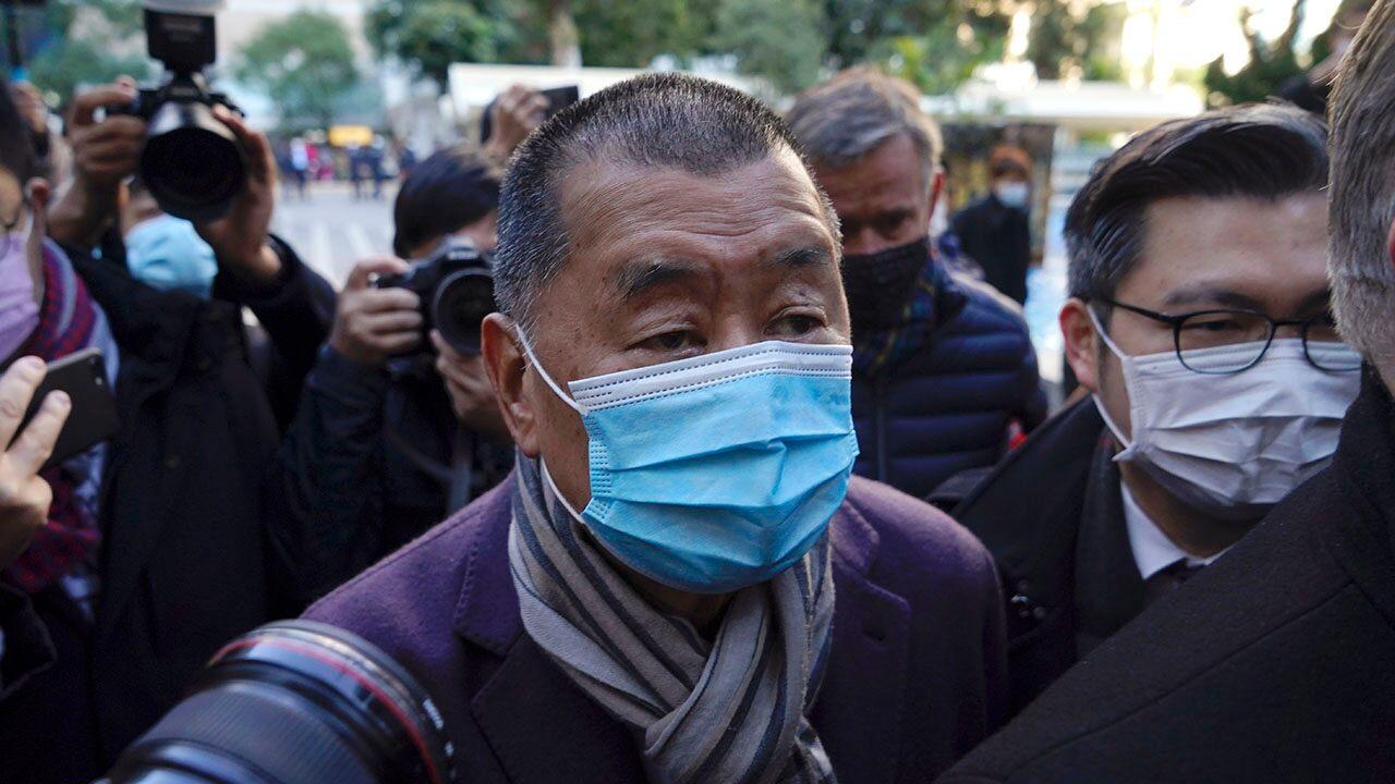 Hong Kong media man Jimmy Lai's sponsorship has been canceled