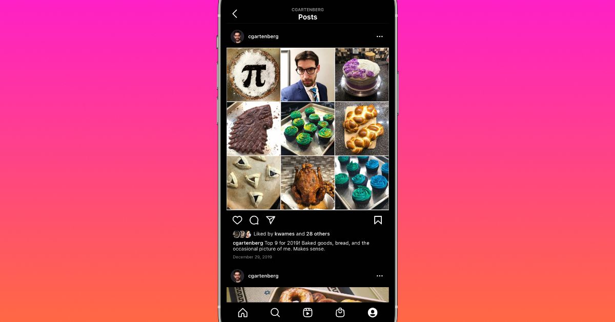 Instagram has dropped the ball again in the 'top nine' review feature