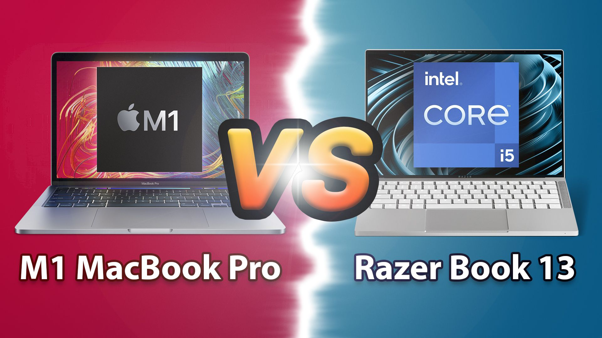 Comparison: M1 MacBook Pro vs Razer Book 13