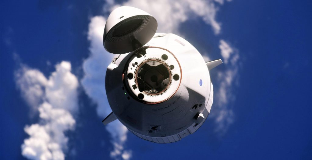 SpaceX's upgraded Cargo Dragon is preparing to re-enter and streamline first