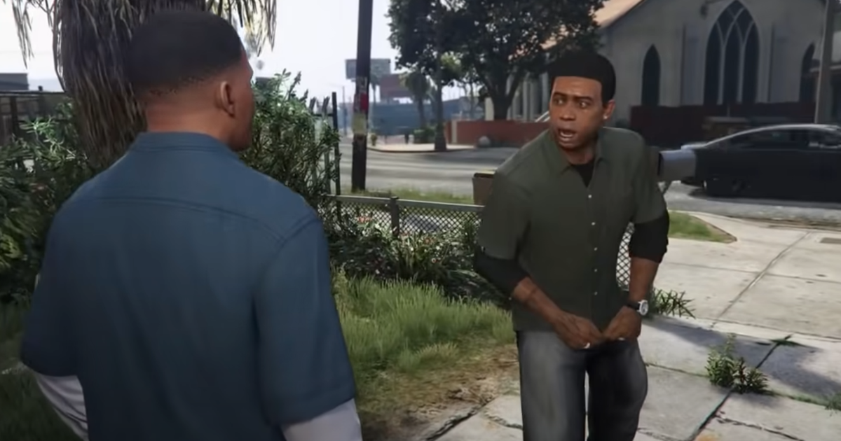 GTA V's stupidest memes recreated an IRL with the actual cast of the game