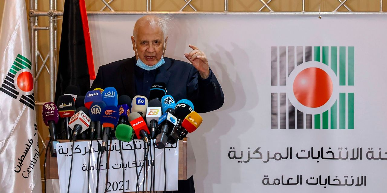 A Palestinian leader calls for the vote for the first time in 15 years amid hopes to mend the rift with the United States