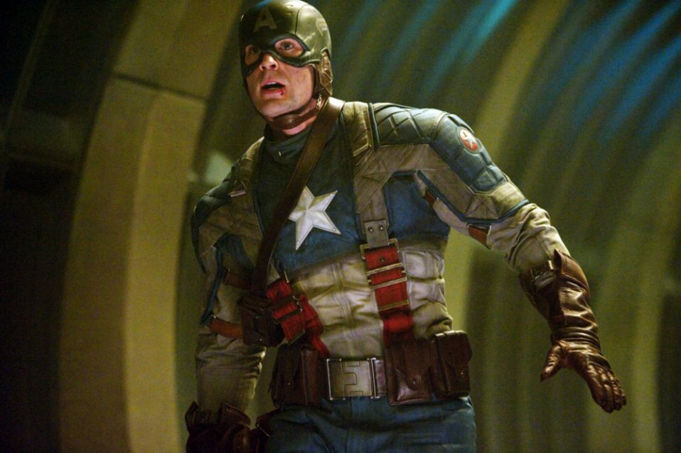 Chris Evans as Captain America in Captain America: The First Avenger (Photo: Jay Maidment / Marvel Studios / © Paramount Pictures / courtesy Everett Collection
