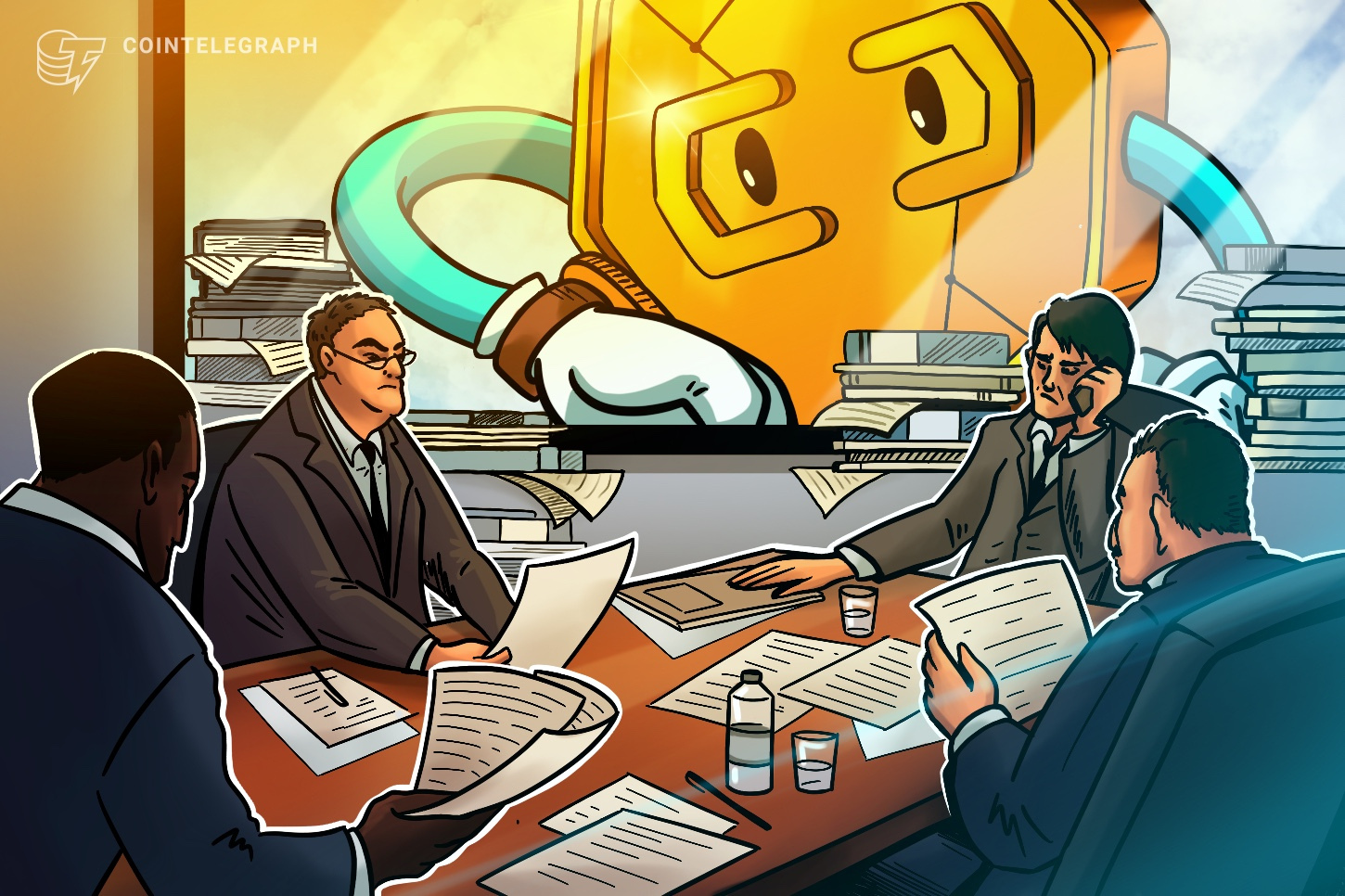 Executives at JPMorgan Chase weigh in on stablecoin regulation and crypto competition
