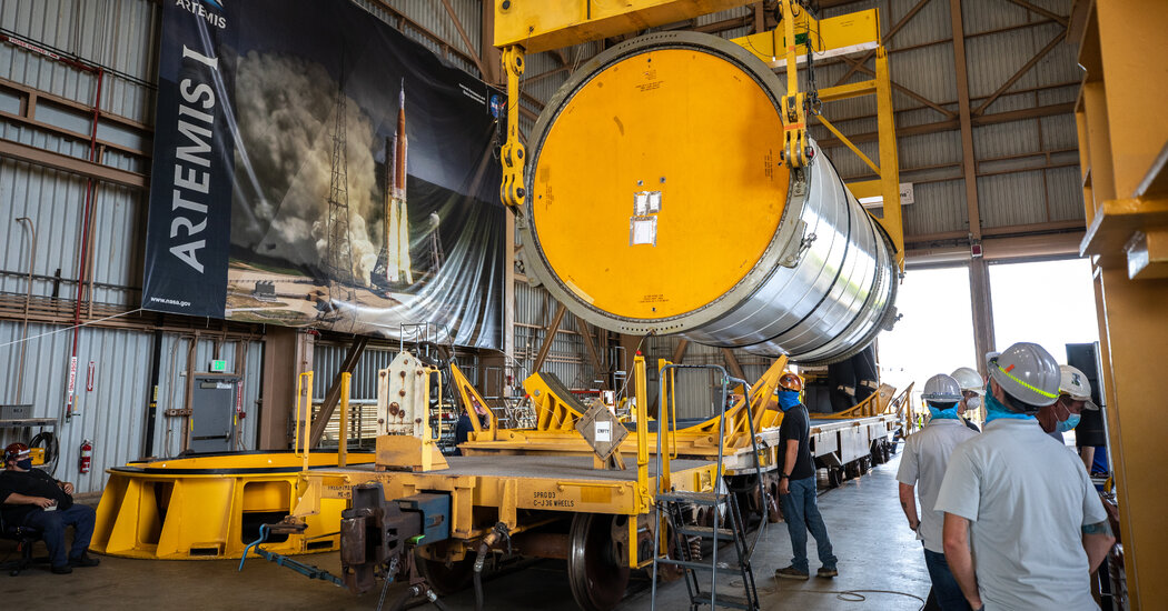 NASA's Space Launch System Hot Shot Test: Watch Time