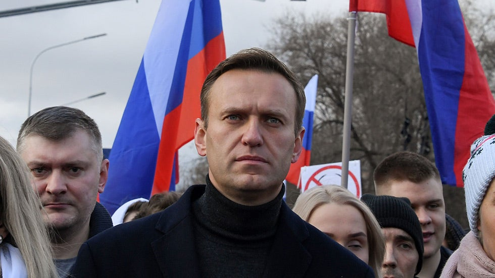 Navalny's ally was imprisoned in Moscow on charges of extremism