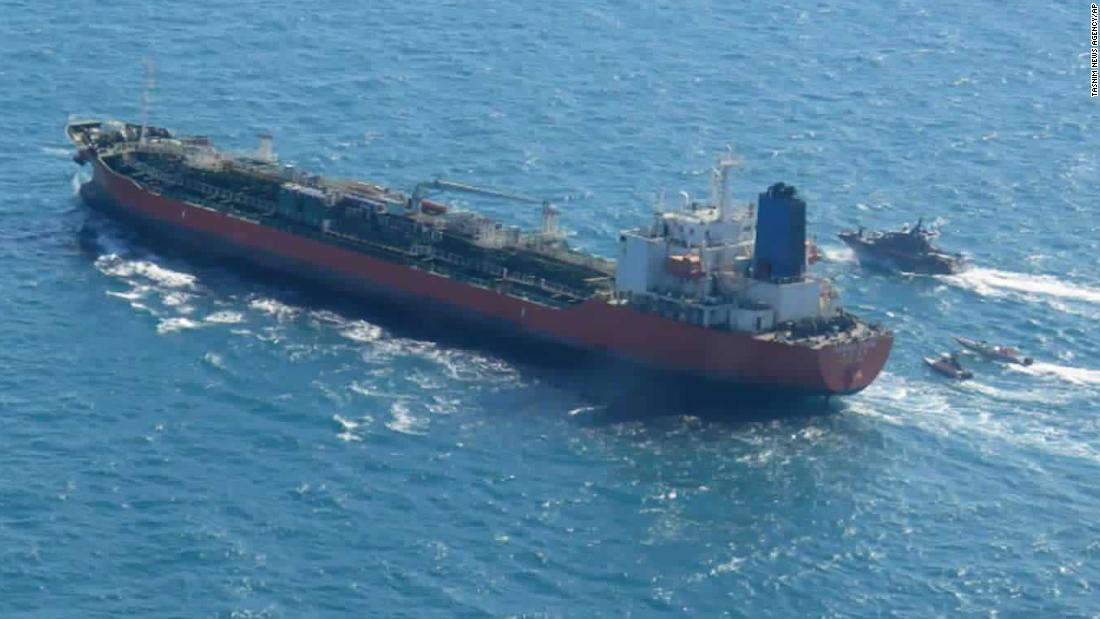 South Korea sends an anti-piracy unit to the Persian Gulf after Iran seized the oil tanker
