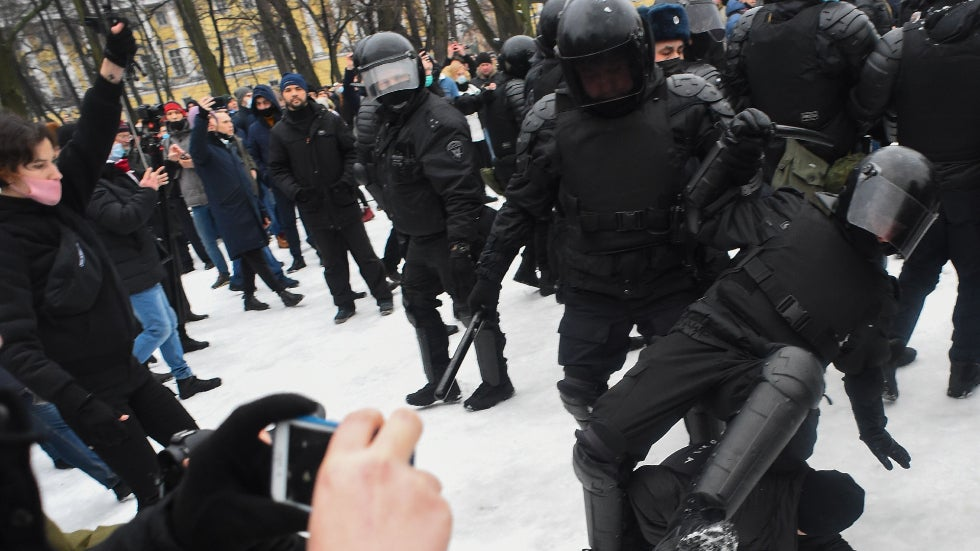 The Kremlin: US statements on pro-Navy protests show 'direct support for lawbreaking'